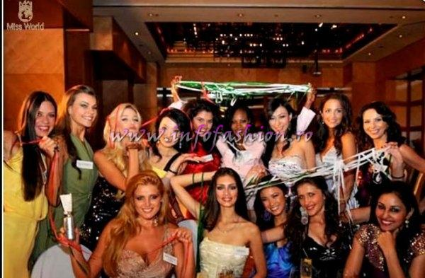 Miss World contestants will have celebrated their birthdays during the five weeks of Miss World 2009