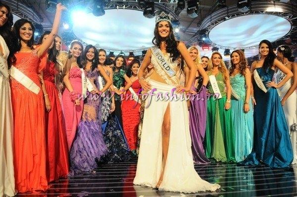 2009MW Winner Miss World Gibraltar- Kaiane ALDORINO at Miss World in South Africa