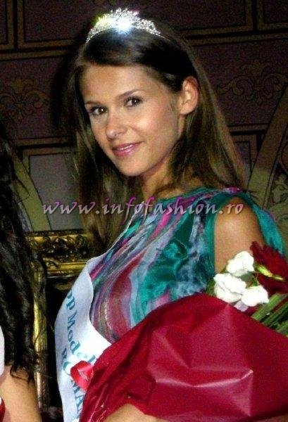 Andreea_Stoia participanta la Miss World Romania 2009, aleasa pt. Top Model of the World in Germany 2010 org.Infofashion Romania