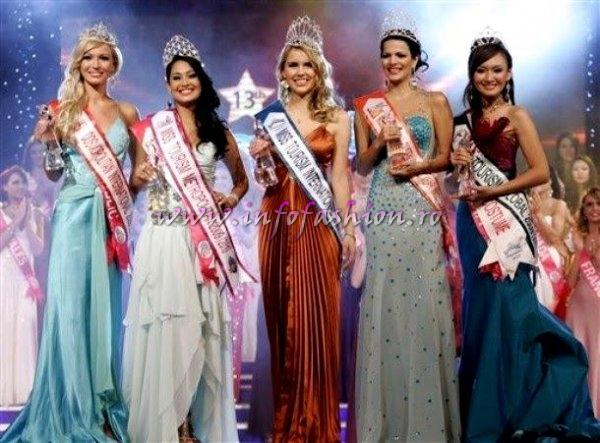 Malaysia_2009 Miss Tourism International Alina Mirt repr. Romania in urma Finalelor nationale Miss Globe Intl, Miss Supranational si Intercontinental