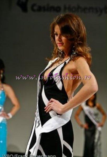 Andreea Stoia, in Top 15 si Premiul de Fotogenie la Top Model Of The World WBO in Germany 2010