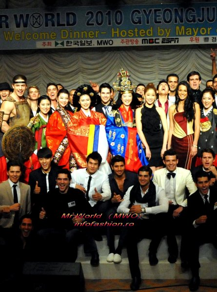 Mr. World Contestants, Gyeongju Hilton Hotel Grand Ballroom