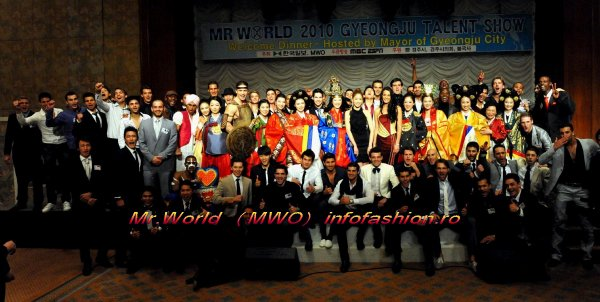 Mr. World Welcomme Dinner hosted by Mayor of Gyeongju at Hilton Hotel Grand Ballroom