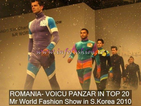 ROMANIA- VOICU PANZAR (alias Ricky) IN TOP 20 Mr World Fashion Show