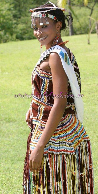 Tanzania at Miss Tourism World 2005 in Zimbabwe (Photo: Frank Thompson)