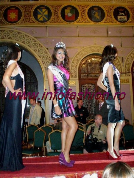 Laura_Barzoiu 2009 in Romania Jury, 2nd ru Miss Talent at The Miss Globe 2008 in Albania