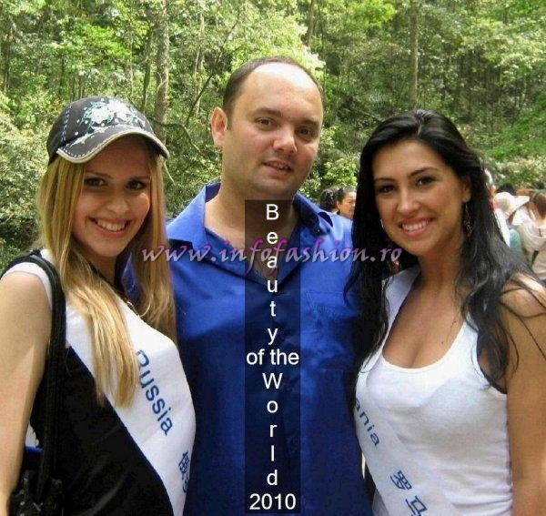 2010 Romania- Ionela Chelmu at Beauty of the World 2010 in China /Agressione & Infofashion.ro