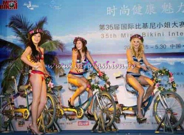 Katherin Anez, Miss Bikini International 2007-9, Julia Liptokova, Miss Bikini International 2006, Miss Bikini China 2009