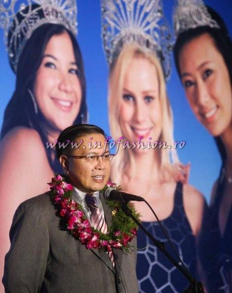 Alex Liu President of Miss Bikini International Organization