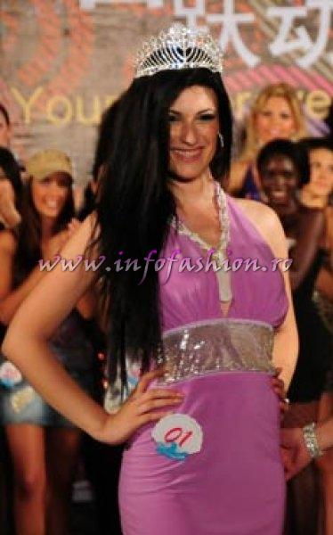 Albania- Ertemiona Mejdani, 1st ru Miss Photogenic at 35th Miss Bikini International In Sanya 2010