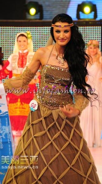 Armenia_2010 Marine Avetyan at 35th Miss Bikini International In Sanya