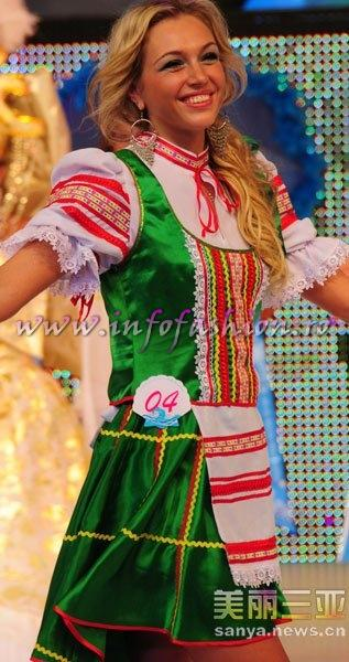 Belarus_2010 Natalya Ustsova, 1st ru Miss Disco at 35th Miss Bikini International In Sanya