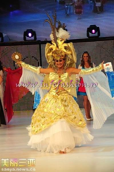 Brazil- Renata Marzolla Costa Pinto, 1st ru Best National Costume at 35th Miss Bikini International In Sanya 2010