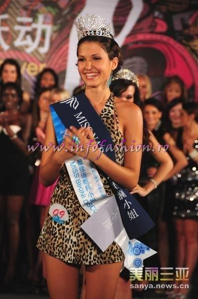 Bulgaria- Ivelina Stanislavova Stefanova, Miss Disco & 2nd Autumn Lady at 35th Miss Bikini International In Sanya 2010