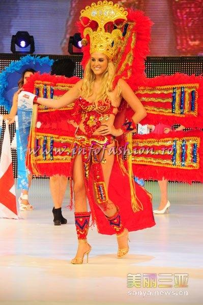 Ecuador_2010 Adriana Carolina Creter, Best National Costume at 35th Miss Bikini International In Sanya
