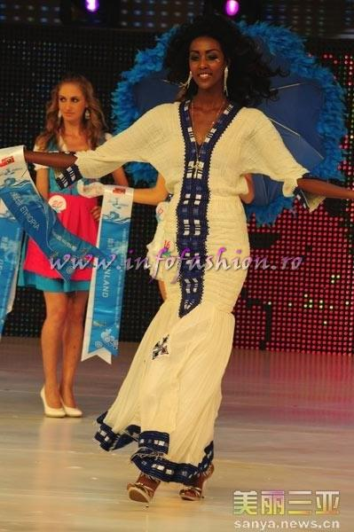 Ethiopia_2010 Megba Tesfannew Abebe, 2nd ru Best National Costume at 35th Miss Bikini International In Sanya