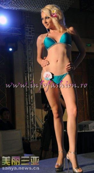 Greece- Anastasia Alexopoulou, 2nd Spring Lady at 35th Miss Bikini International In Sanya 2010