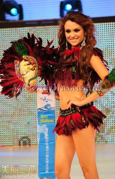 Mexico_2010 Clarisa Perezrubio Camacho at 35th Miss Bikini International In Sanya
