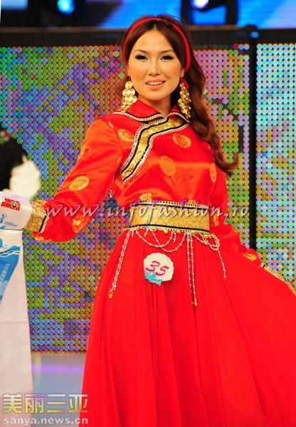 Mongolia_2010 Enkhmaa Sergelen at 35th Miss Bikini International In Sanya