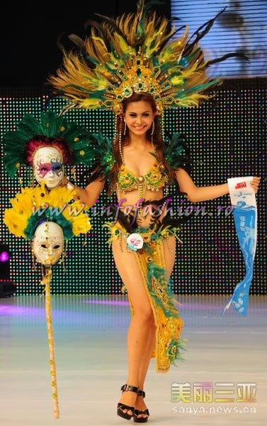 Philippines_2010 Princess Angela Abella, Miss Charm at 35th Miss Bikini International In Sanya