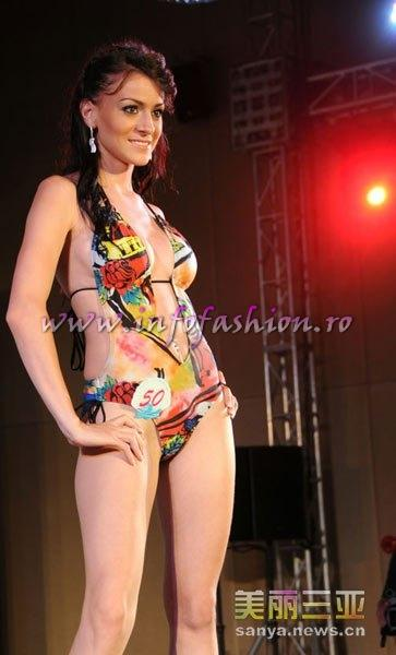 Slovenia_2010 Elfete Veliu at 35th Miss Bikini International In Sanya