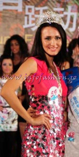 Ukraine- Ulia Struk, 1st ru Miss Charm at 35th Miss Bikini International In Sanya 2010