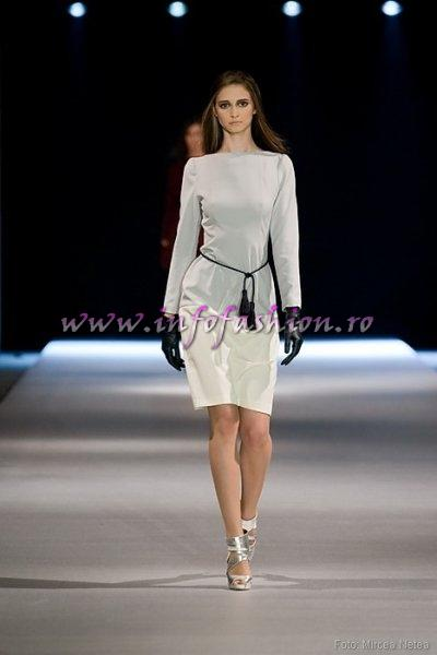 Evelin Ivanciuc, One Models la Cluj Fashion Week  Show Kavathas Evangelos- Grecia