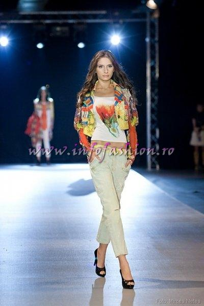 Andrada Statie, One Models la Cluj Fashion Week Designer S. Korea- Choi Boko.