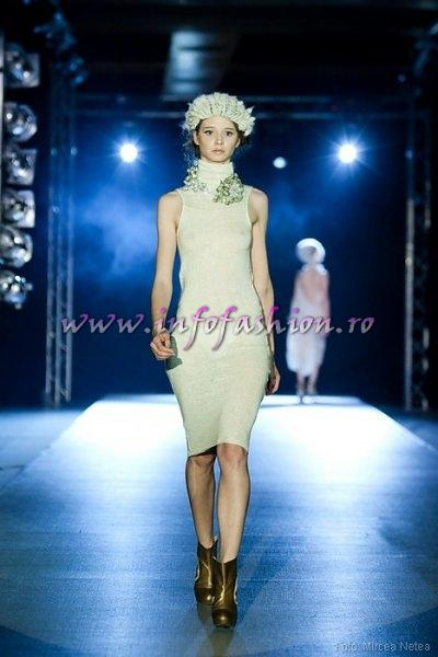 Evelin Ivanciuc, One Models la Cluj Fashion Week Designer Vika Gorenco