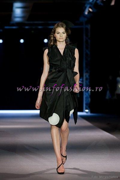 Oana Virlan, One Models la Cluj Fashion Week Designer George Neagu