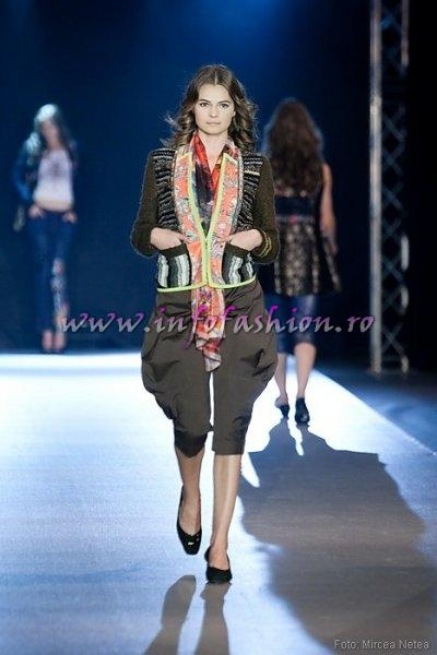 Oana Virlan, One Models la Cluj Fashion Week Designer S. Korea- Choi Boko