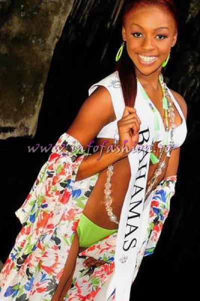 Bahamas_2010 Shamika Rolle, Achievement Award at Miss Global Teen in Brazil