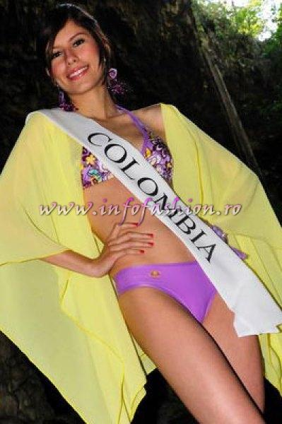 Colombia_2010 Angelis Romina Behaine Mogollon, Semi finalist at Miss Global Teen in Brazil