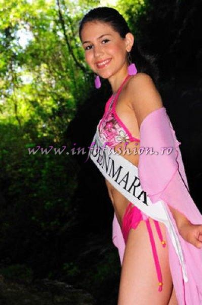 Denmark_2010 Agnes Josefin Helka, Miss Personality at Miss Global Teen in Brazil
