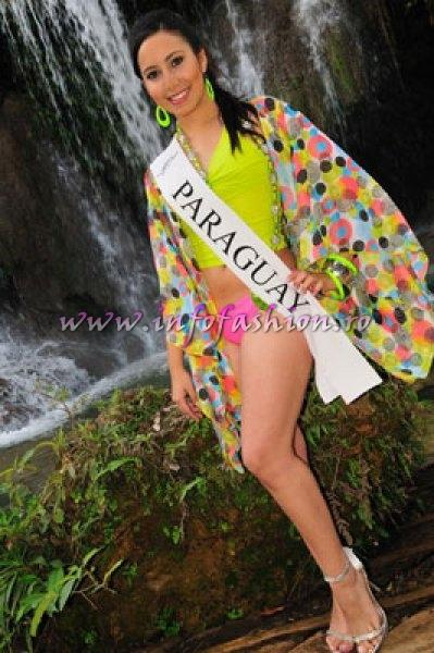 Paraguay_2010 Romina Gisel Britez Acosta at Miss Global Teen in Brazil