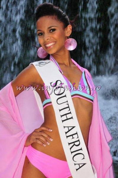 South_Africa_2010 Lisa De Bique, Semifinalist at Miss Global Teen in Brazil