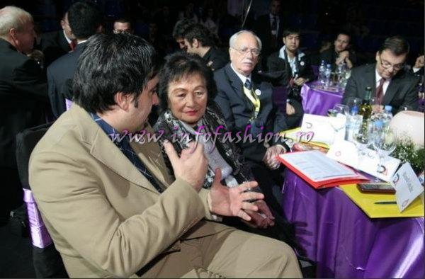 Miss Globe International 2009 in Albania Mrs. Ann, Chalie See`s wife in The Jury