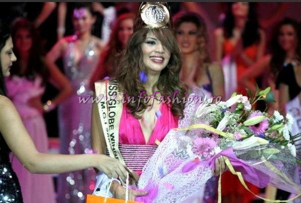 Algeria_2009 Samah Gahfaz, Winner of Miss Globe International in Albania