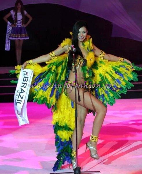 Brazil- Amanda Bocchi, Miss Bikini of The World at Miss Globe International 2009 in Albania