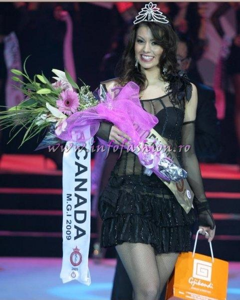 Canada- Shannelle Voght, Miss Golden Girl at Miss Globe International 2009 in Albania