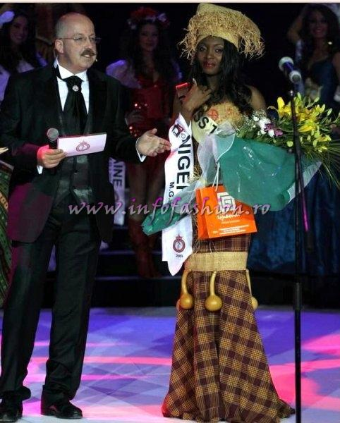 Nigeria_2009 Ruth Agbo, Miss Talent at Miss Globe International in Albania