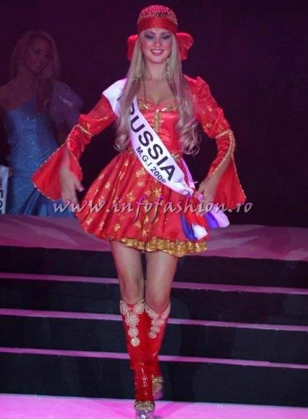 Russia_Natalia_Chirkova Miss Dream Girl of The World at Miss Globe International in Albania 2009