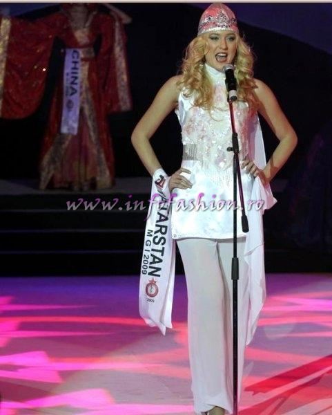 Tatarstan_2009 Dilyara Ziganshina at Miss Globe International in Albania