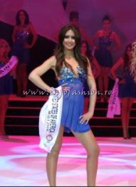 USA- Lexie Guerrero, Miss Cosmopolitan at Miss Globe International 2009 in Albania