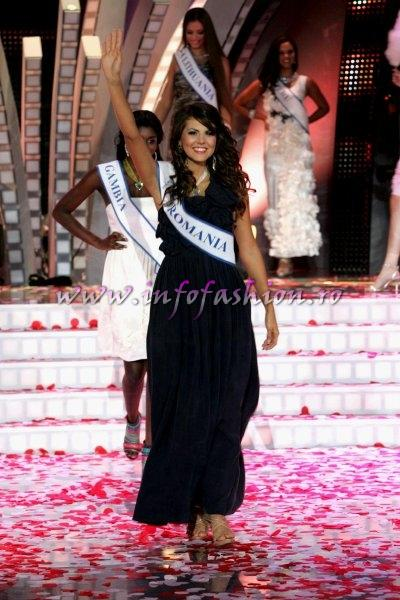 Laura Barzoiu in TOP 20 at Miss Supranational 2010 in Poland 2nd edition
