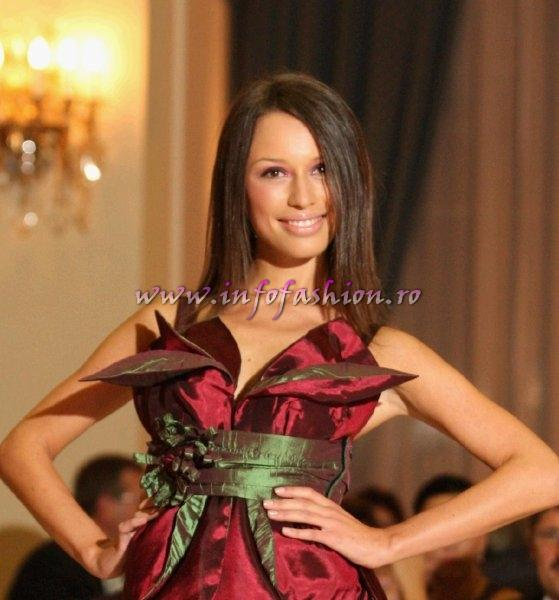 Beatrix_Hack in Top 10 la Miss World Romania 2010 org. Platinum Ag InfoFashion