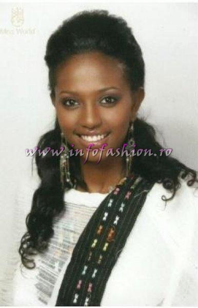 Ethiopia_2010 Hiwot Assefa TESFAYE at Miss World 60th edition in China, Sanya