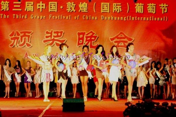 International Grapes Festival Show at Miss Friendship International 2010 in China