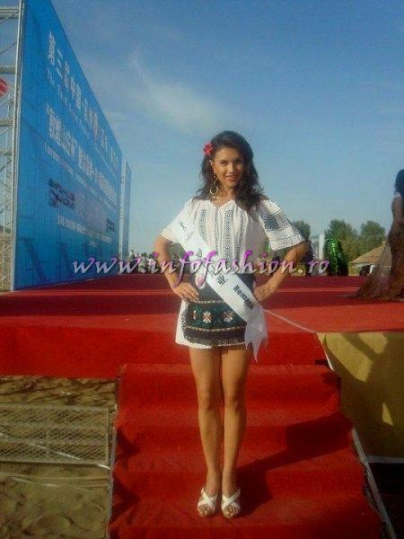 2010 Larisa Boriceanu, Miss Charm 2nd runner up la Miss Friendship in China /Infofashion Agressione Brasov