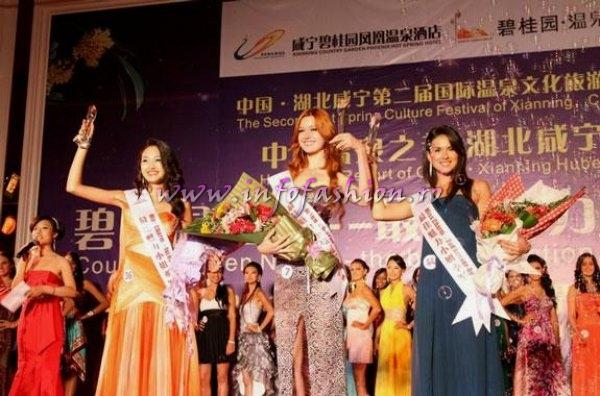 Larisa_Boriceanu 2010 Romania Miss Charm 2nd runner up la Miss Friendship in China /Infofashion Agressione Bv L_173CM